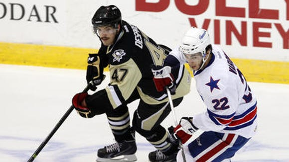 Amerks leading scorer Phil Varone produced 8 goals and 25 assists in 38 games before Wednesday's callup to the Sabres.