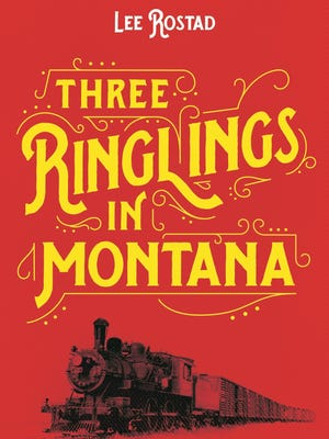 """""""Three Ringlings in Montana"""" by Lee Rostad."""