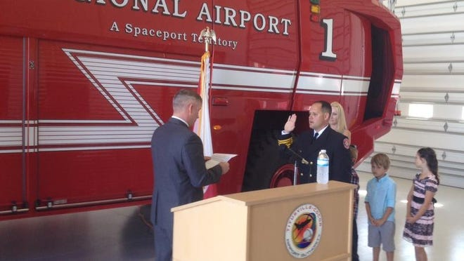 Terry Wooldridge will lead a fledgling fire department at a north Brevard County airport.
