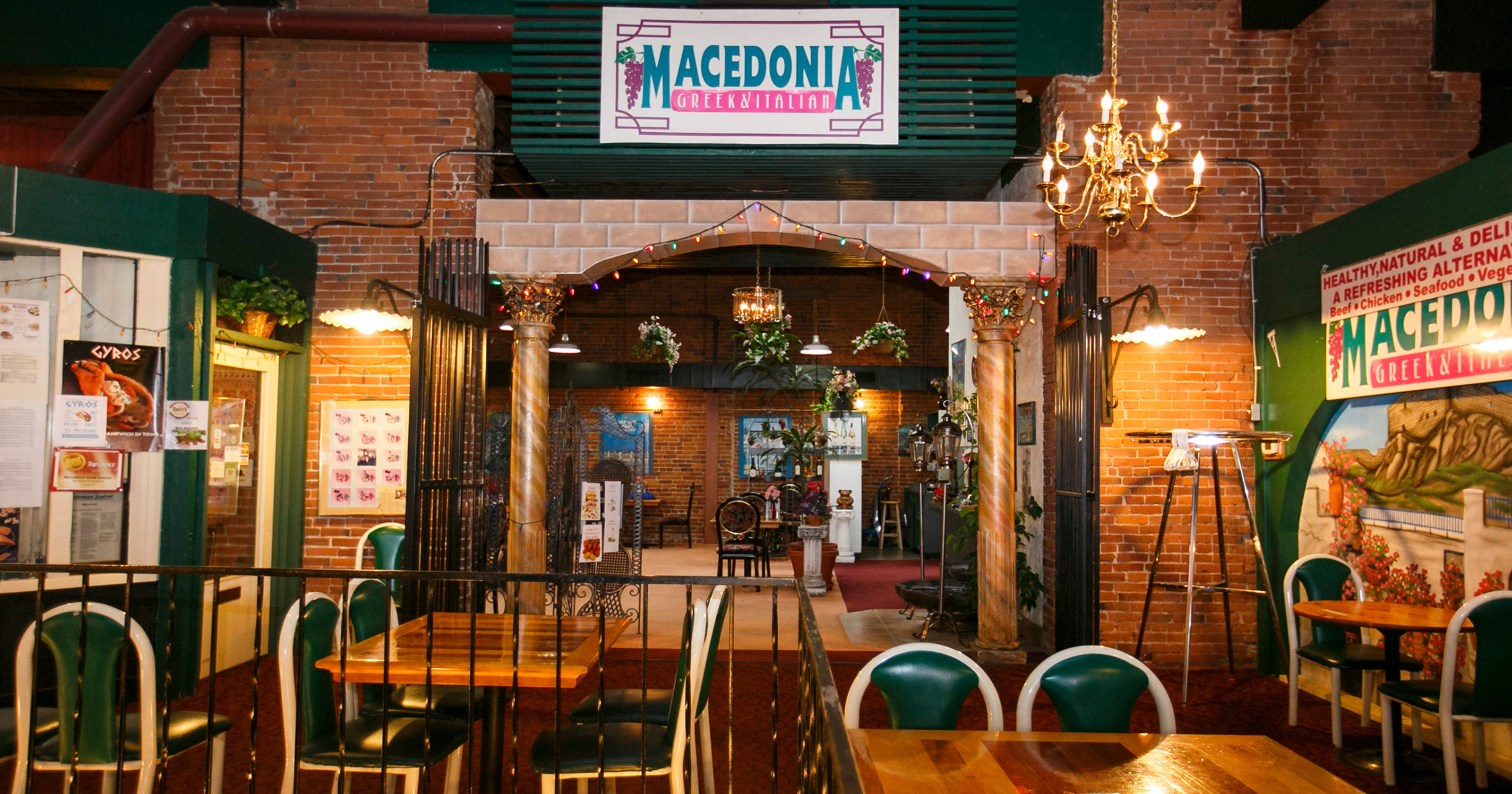 Macedonia will close after 21 years in Reed Opera House