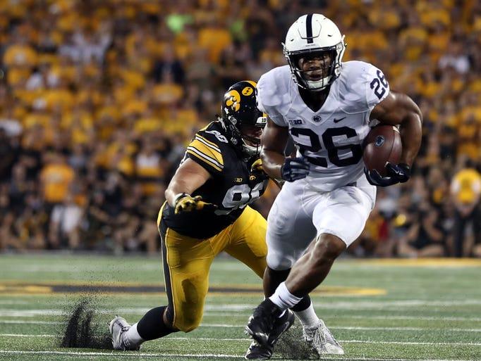 1. Browns — Saquon Barkley, RB, Penn State