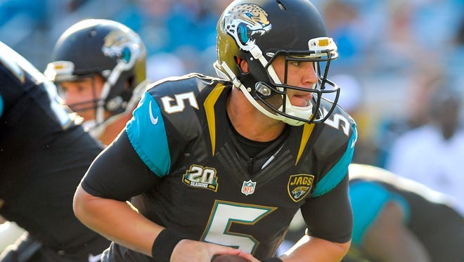 Jaguars QB Blake Bortles got his first NFL start Thursday night in the preseason finale.