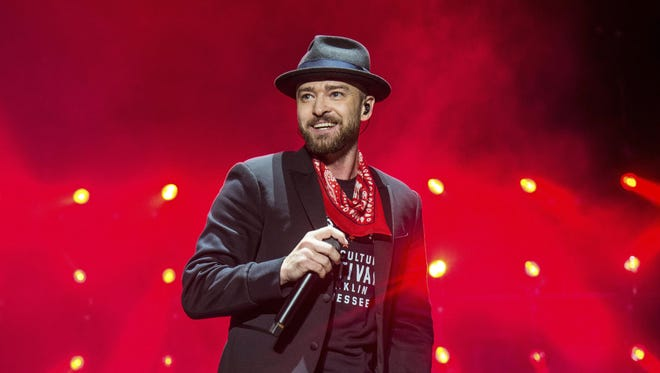Sunday will be the third time Justin Timberlake has performed a Super Bowl halftime show.
