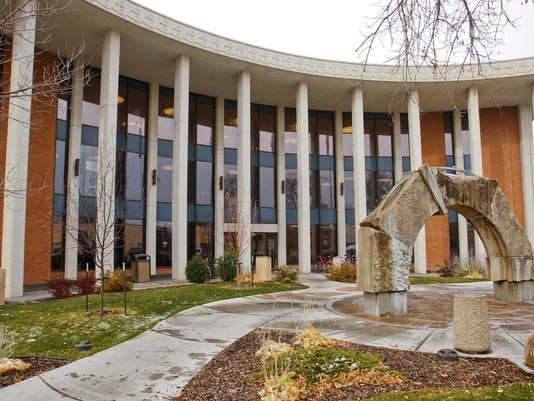 exterior library FAL 0305 Alma Jacobs