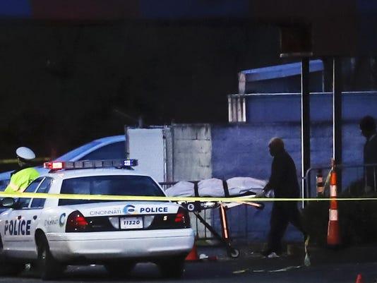 APTOPIX Nightclub Shooting Cincinnati