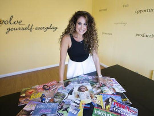 Jennifer Kaplan, owner of Evolve PR and Marketing in