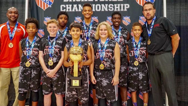 The Titans finished the season off by winning the AAU Division 1, 6th grade international championship at Disney's Wide World of Sports in Orlando.