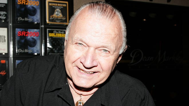Surf guitar legend Dick Dale comes to Vinyl Music Hall today.