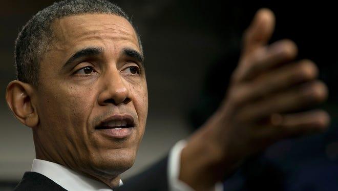 President Obama on Thursday.