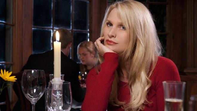 Nicolette Sheridan, who's suing after being fired from 'Desperate Housewives,' in a TV movie in 2010.
