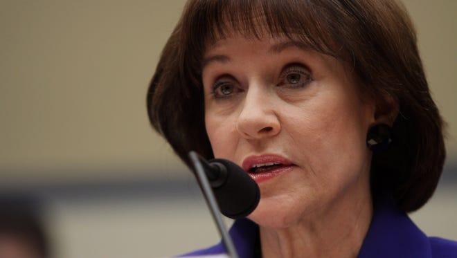 Former Internal Revenue Service official Lois Lerner.
