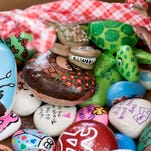 Painted rocks popping up all over the Pensacola area