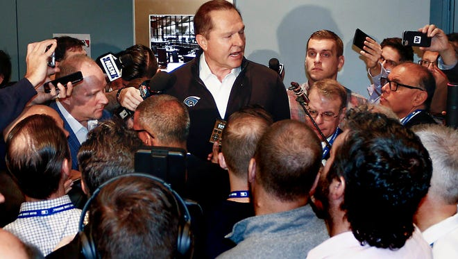 Scott Boras says he's not to blame for the slow-moving free agent and trade markets.
