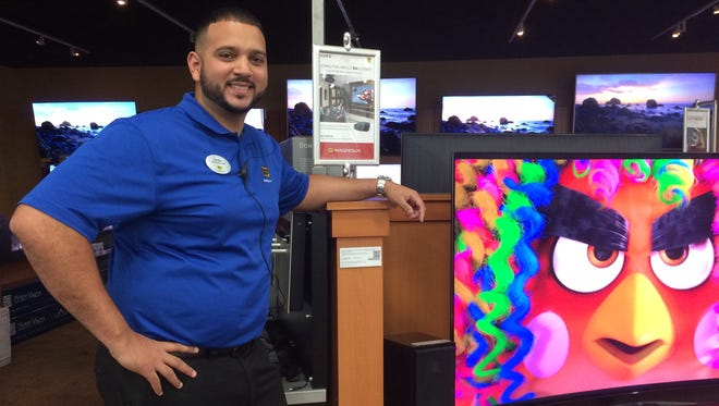 Jordas Reyes is general manager of the Best Buy store at Gulf Coast Town Center.