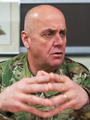 """Brigadier general Charles Jones is the new director of the Bluegrass ChalleNGe Academy. """"We will ensure it never happens again,"""" said Jones about the previous administration's sexual abuse scandal at the academy."""