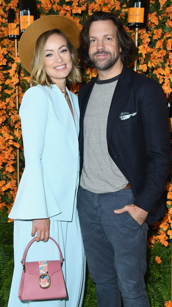 Olivia Wilde and Jason Sudeikis attend the 9th Annual