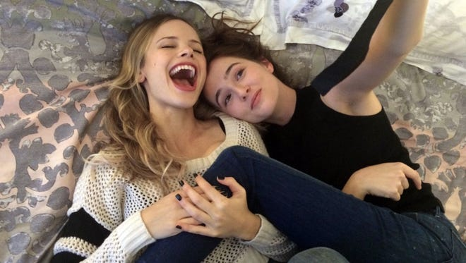 """Halston Sage, left, and Zoey Deutch in a scene from the movie """"Before I Fall."""" The movie opens Thursday at Regal West Manchester Stadium 13 and R/C Hanover Movies and Friday at Frank Theatres Queensgate Stadium 13."""