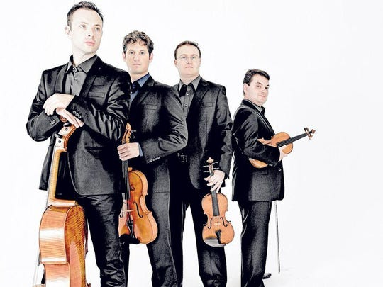 The Jerusalem Quartet performs Saturday as part of