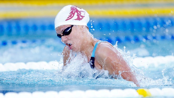 Yulia Efimova of Russia, one of IU swimmer Lilly King's top opponents at the Olympics, was declared ineligible.