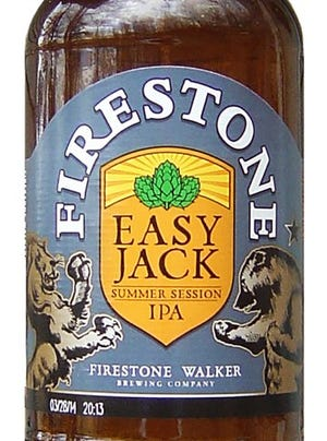 Firestone Easy Jack IPA from Firestone Walker Brewing Co. of Paso Robles, Calif., is 4.5%  ABV.