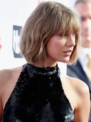Recording artist Taylor Swift attends the iHeartRadio Music Awards at The Forum on April 3, 2016 in Inglewood, California.