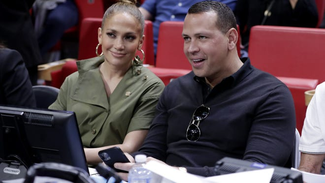 Jennifer Lopez, left, and Alex Rodriguez will not be owning the New York Mets.
