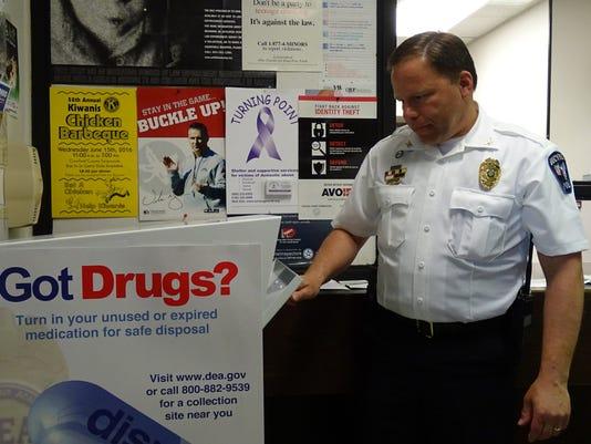 Chief Koepke looking for unused medication