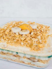 "Moon Pie Banana Pudding from ""Andrea's Cooktales."""