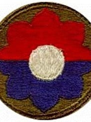 Ninth Infantry Division insignia