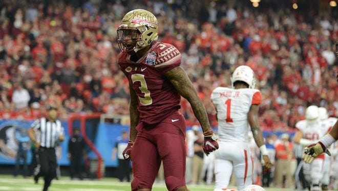 Derwin James finished his freshman campaign as one of college football's best safeties.