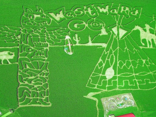 The Coolspring Corn Maze is taking inspiration from