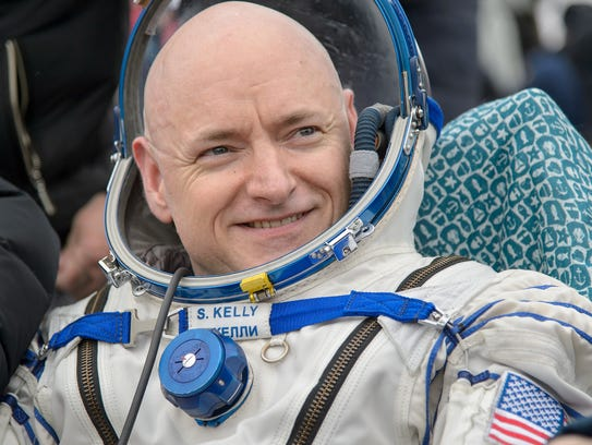 Astronaut Scott Kelly commanded the International Space