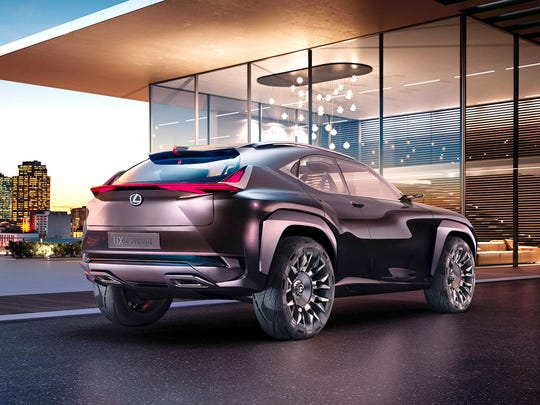 The Lexus UX concept will be revealed at the 2016 Paris Auto Show.