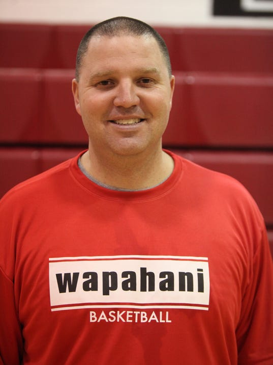 Wapahani Basketball practice