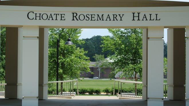 Choate Rosemary Hall, the elite boarding school in Wallingford, Conn., is shown in a 2013 file photo.