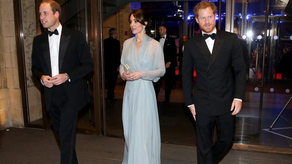 Prince William, Duchess Kate of Cambridge, and Prince