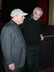 The Lyric Theatre's executive producer John Loesser talks with actor Burt Reynolds about his one-man show performance in 2011.