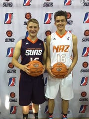 Another look at the Northern Arizona Suns' new uniforms.