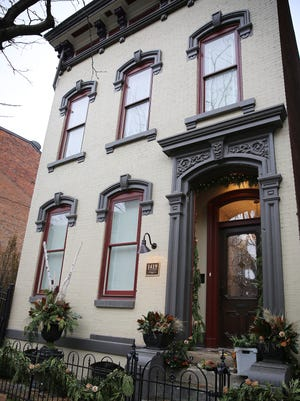 One of the 9 homes that will be featured this weekend on the Over-the-Rhine Holiday Home Tour.