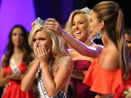 The Miss Tennessee Teen USA 2017 pageant was held at Austin Peay University's Mabry Concert Hall on Saturday. Miss Marshall County, Megan Ski Hollingsworth, was named Miss Tennessee Teen USA 2017.