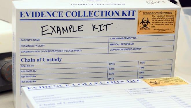 Unused rape kits.