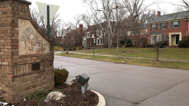 Palmer Woods Historic District is on the U.S. National Register of Historic Places. This neighborhood north of 7 Mile has approximately 289 homes.
