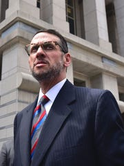 David Wildstein leaves the federal courthouse in May