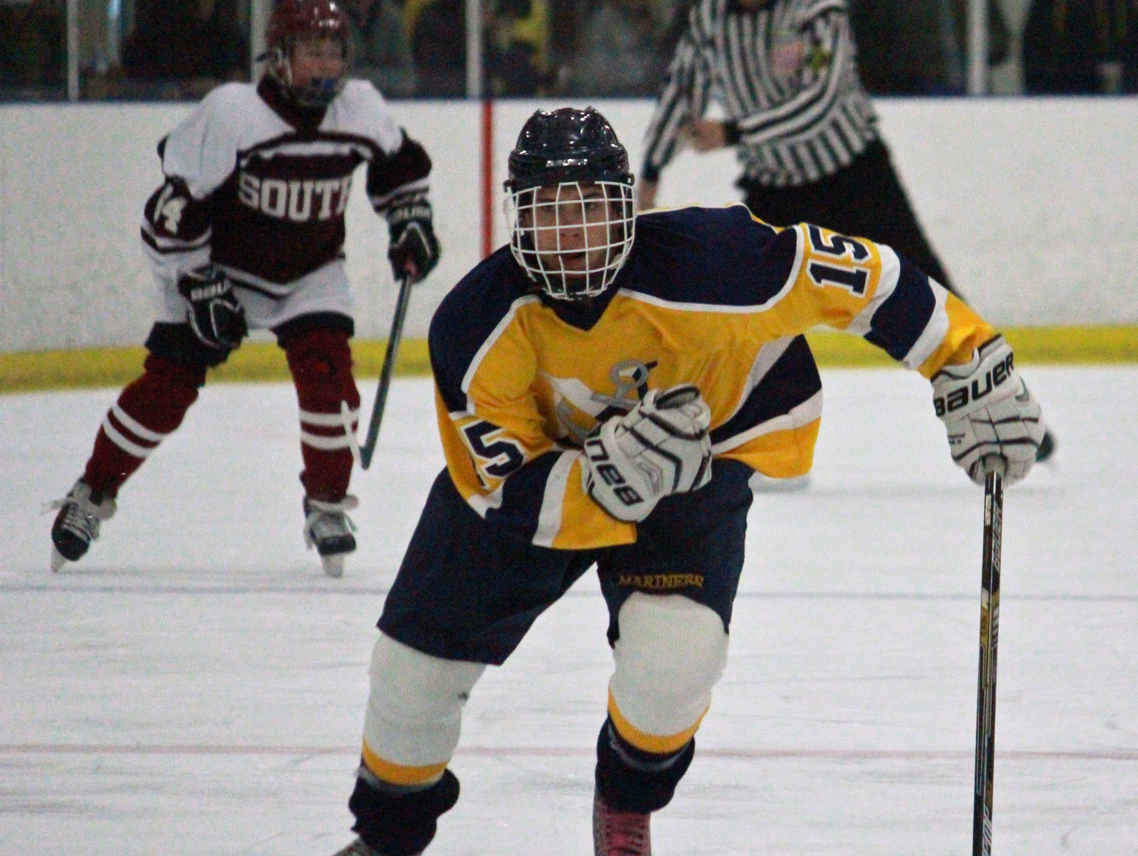 Nick Pica (15) of Toms River North