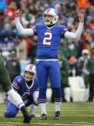 Dan Carpenter had a disappointing season for the Bills.