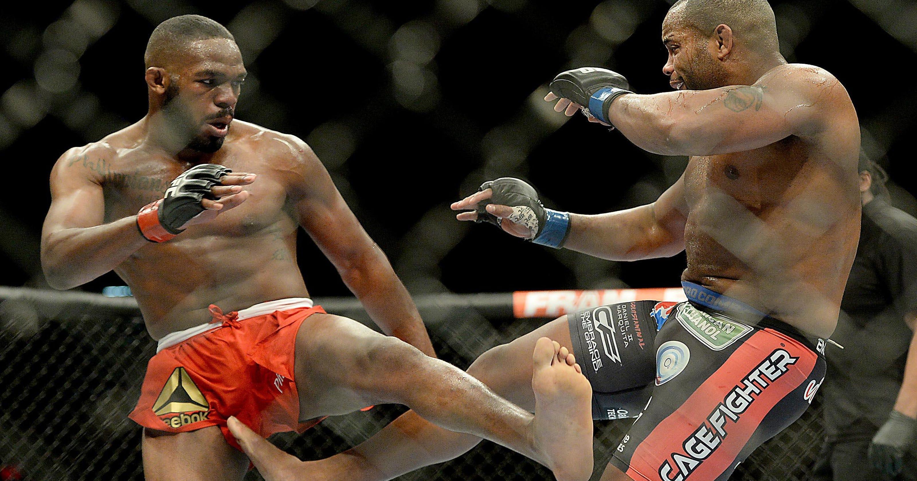 212d40ed WAR OF WORDS: Jones, Cormier in spat before UFC 214
