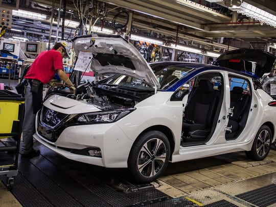 Free public tours of the Smyrna Vehicle Assembly Plant, 983 Nissan Drive, are offered at 10 a.m. and 1 p.m. Tuesdays and Thursdays for ages 10 and older.