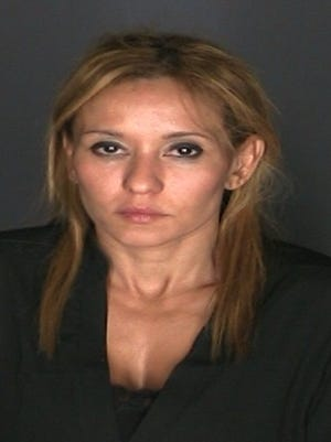 Erika Mollin, 42, was arrested and charged with drunk driving in Scarsdale over the weekend.