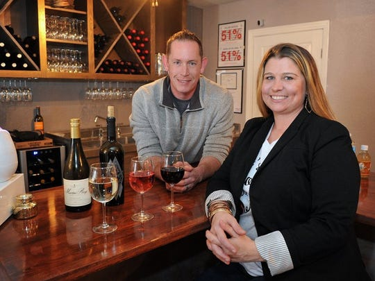 Chris and Tagan Couch, owners of Gypsy Kit Cafe downtown, opened Gypsy Uncorked, a wine and craft beer bar, at 3115 Kemp Blvd.