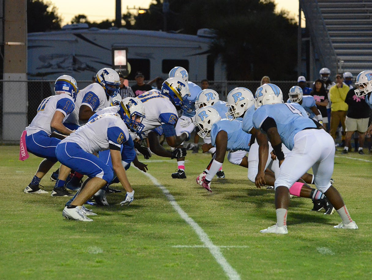 The action started with Titusville getting the ball first Friday night at Rockledge.
